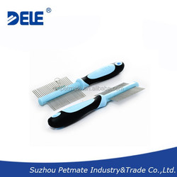 Double Sided pin comb dog grooming comb pet grooming and cleaning comb