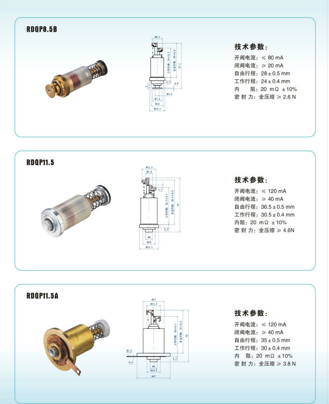 Magnet valve for gas oven