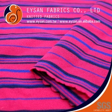 EYSAN Stretch Stripe Lycra Nylon Spandex Knit Fabric for Underwear