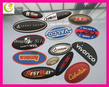 Hot sale custom shoes brand logo,soft pvc logos of shoe brands supplier in China