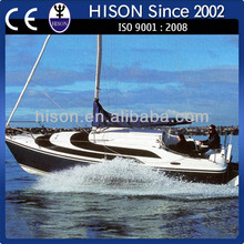 China manufacturing Hison 26ft personal model yacht