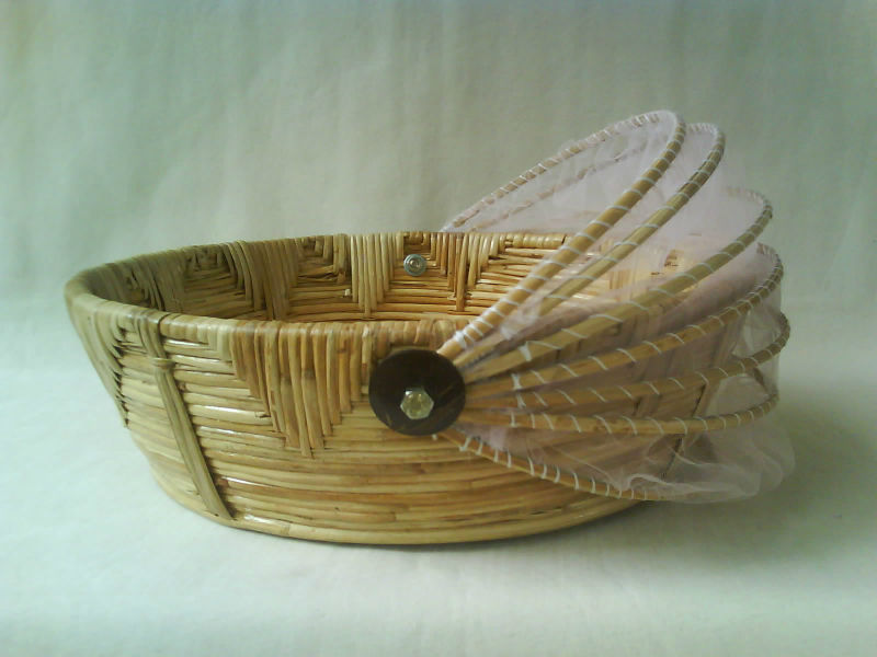 Medium Cane Fruit Basket