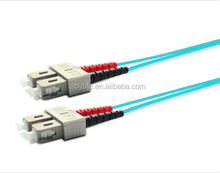 High quality low insert loss optical jumper SC-SC OM3 fiber optic patch cord China suppliers