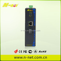 1000M optical media converter ethernet industrial switch