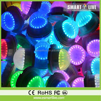 popular gaint inflatatable lighting flower for night club decoration
