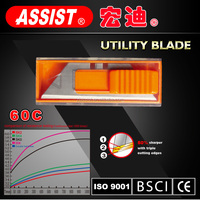 "ASSIST brand Famous in 2015 ""T"" 60C carbon steel knife blade"