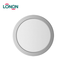 Fast Delivery 6W 12W 18W 24W ultra thin recessed round led ceiling flat panel light