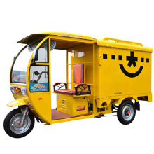 China Electric Van Cargo Tricycle/Delivery Tricycle with Closed Cargo Box