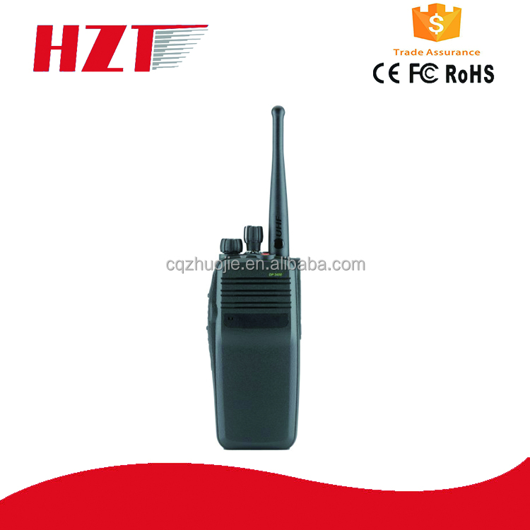 Non-display Portable Radio DP3400 walky talky long distance Dual mode analogue digital scan