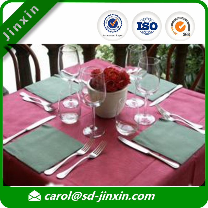 Disposable PP nonwoven table cloth/outdoor table cloth/table cover for picnic