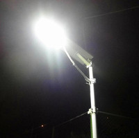 Off Grid Solar System DC 12v 24v all in one solar street light led 30 watt