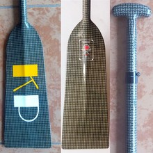 wholesale yellow kevlar racing dragon paddle with IDBF certificate