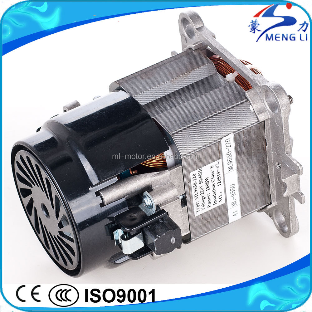 High Efficiency Electrical Motor for Blender with High RPM(ML-9550)