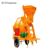 Mobile wheels concrete mixer