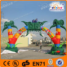 halloween arch inflatables