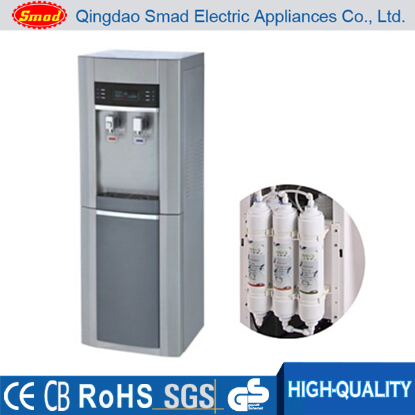 High Quality Water Cooler With Mini Fridge Standing Design