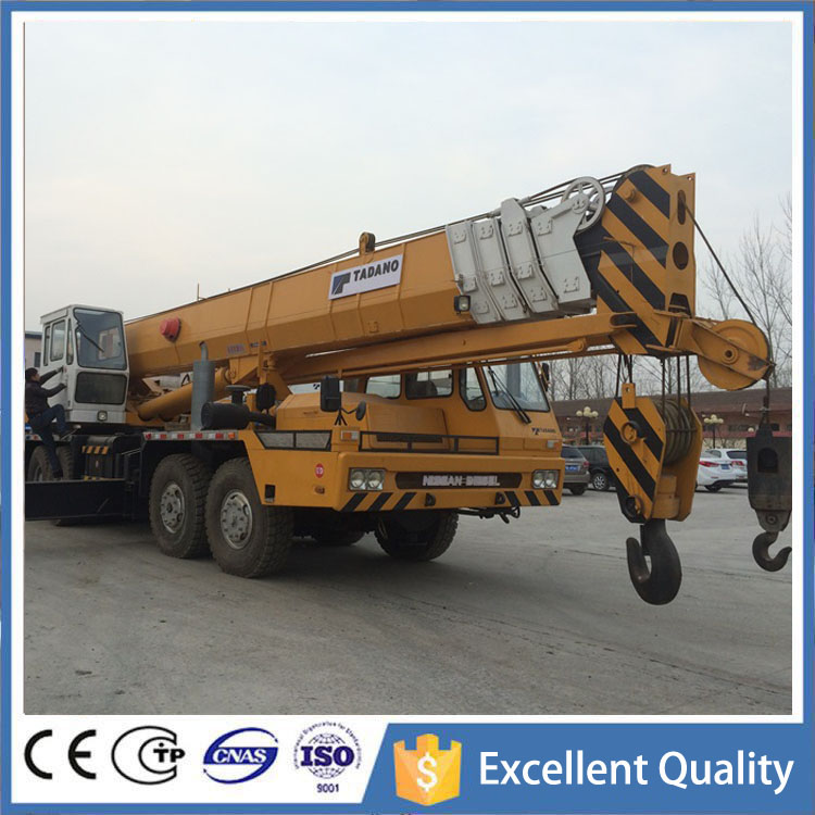 Current Located in Shanghai Yard Japan Original TADANO Used Truck Crane