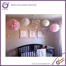 k7107-13 wedding decorations large paper flowers flower pompoms tissue paper flowers