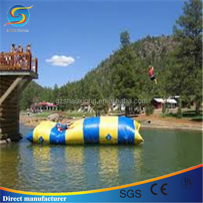 High quality and hot sales inflatable water catapult blob jump for sale
