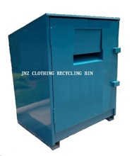 2017 Original factory second hand Clothing donation bins for outdoor use 3
