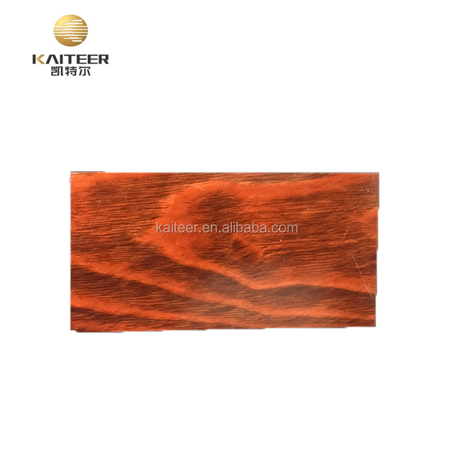 wooden grain aluminum stainless steel color coated composite wall panel system