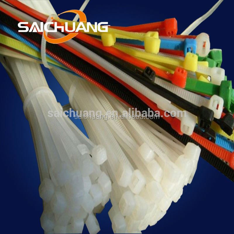 natural white zip tie traction twist lock cable ties nylon 66 cable ties