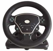 Factory Directly sale Video Games Accessories for xbox one / PS3 / PS2 / PC computer Racing Game USB Steering Wheel