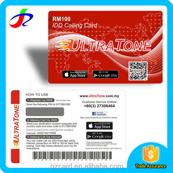 selling bussiness scratch off prepaid card