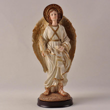 religious angel figure in resin folk gifts crafts