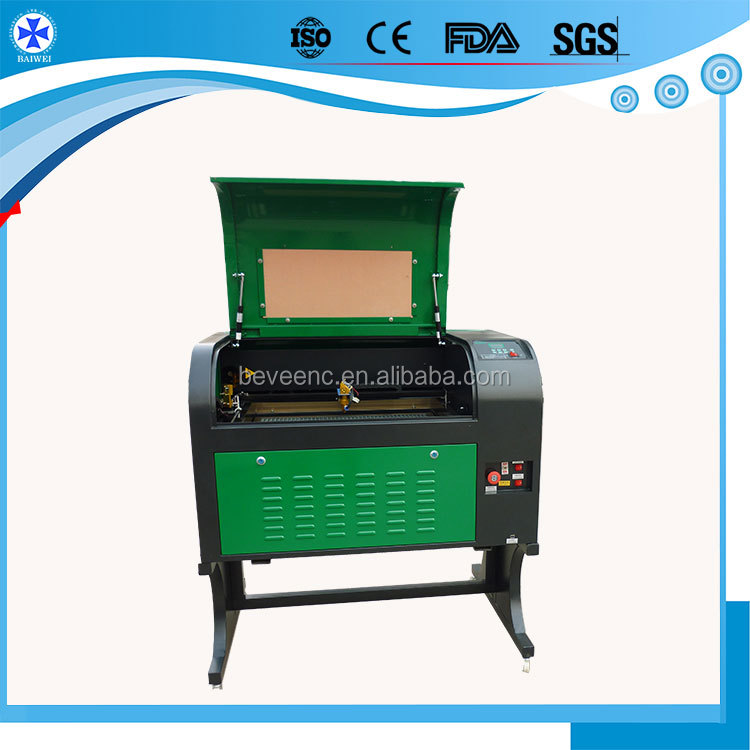 6040 High Speed small laser cutting machine with Auto Lifting Platform