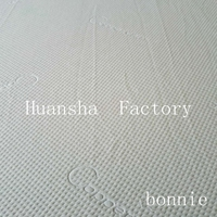 HC- 666 New Design Hangzhou Huansha Mattress Fabric Factory 100% Polyeste Jacquard Knitted Factory Direct Fabric