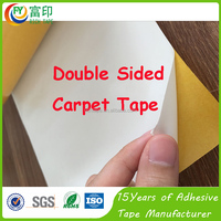 Stong Adhesion White PVC Double Sided Carpet Tape