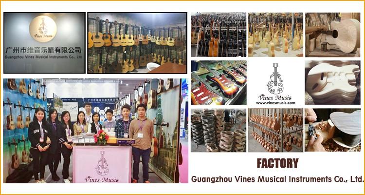 LG-07 global personalizado instrumentos musicais 6 cordas guitarra atacado made in china
