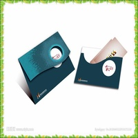 Factory printing new design die-cut envelop and greeting cards