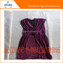 HIG American second hand clothing in bales second hand and shoes we wholesale used clothing