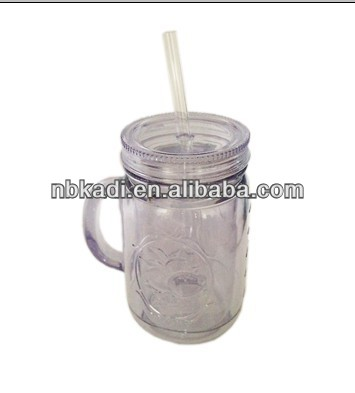 Hot! Promotion plastic cups with lids (KD32)