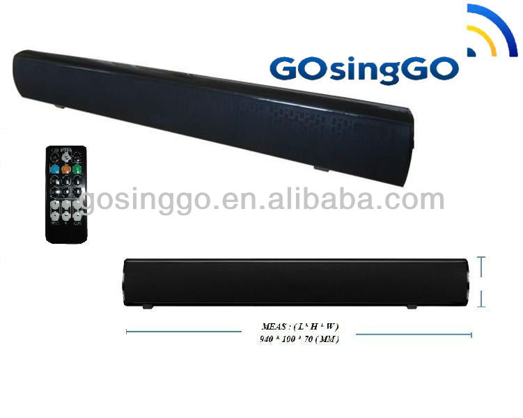 bluetooth sound bar lcd tv speaker