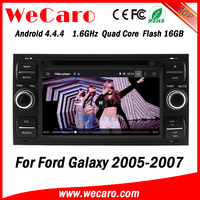 Wecaro WC-FU7016 Android 4.4.4 dvd player HD for ford galaxy car radio 2005 2006 2007 Steering Wheel Control