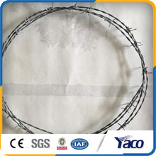Yachao free sample 2mm diameter twise Barbed wire with handle