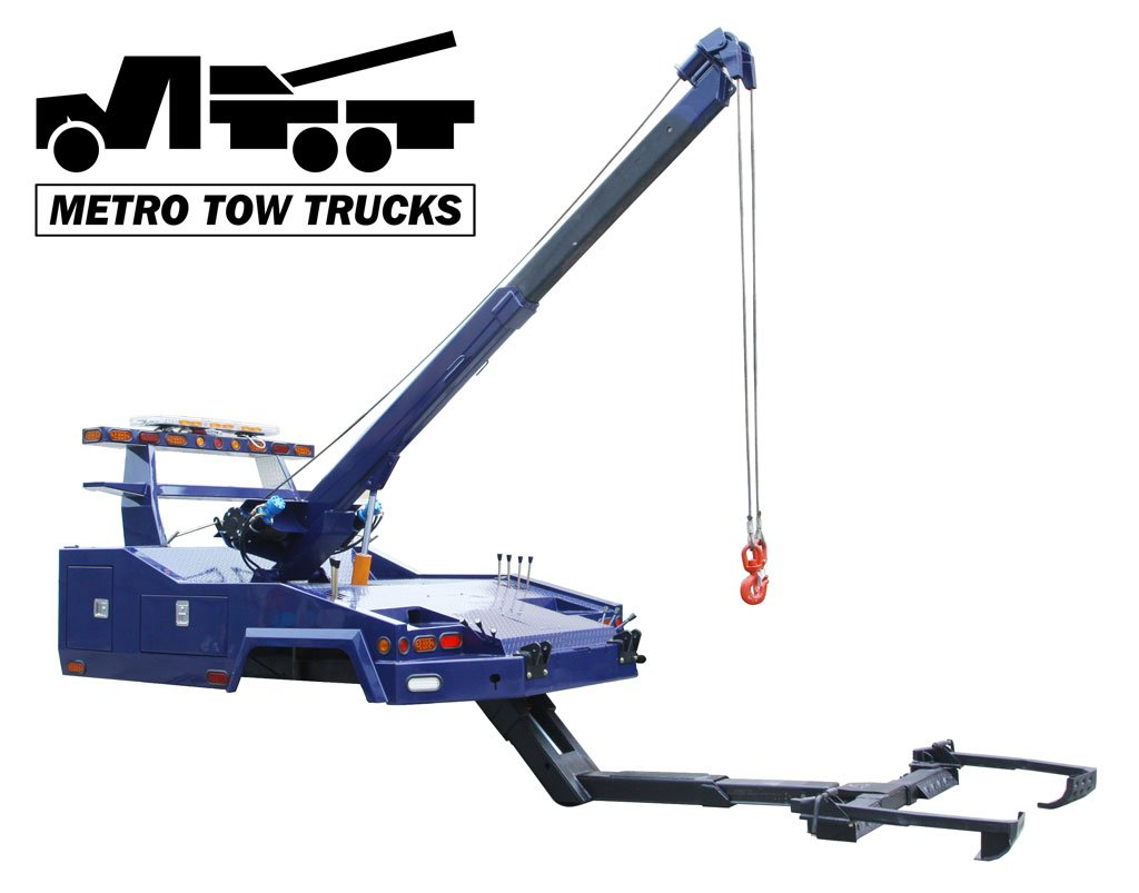 IND-10 Medium Duty Tow Truck Road Wrecker