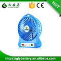 Geilienergy New Product Protable Mini Desk USB Fan Li-ion Battery Powered