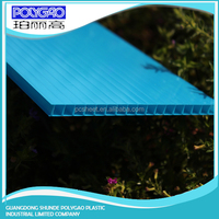 Strength, heat insulation,flame resistance multi wall polycarbonate sheet