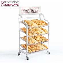 retail store bread bakery donut display case