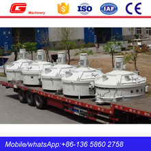 Good price 750L MP planetary small concrete mixer exported to Qatar