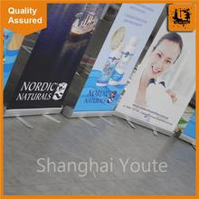 2016 custom flag luxury roll up banner size with CE certificate