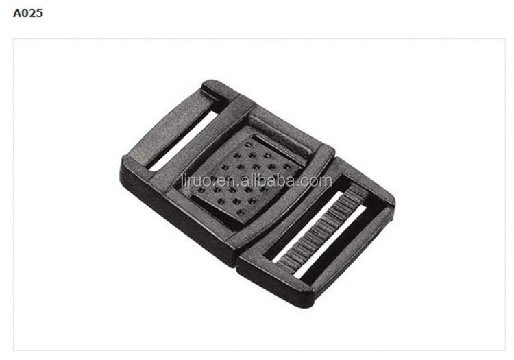 Hot sale luggage plastic buckle for belt