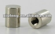 CNC machining brass lamp parts nickel plated brass cylinder