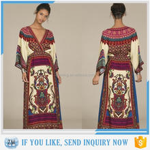 New design maxidresses sharara dress Bohemian style Thailand holiday beach dress