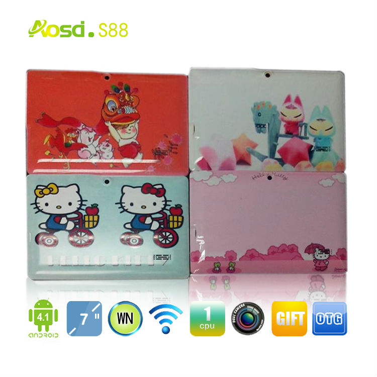 China Cheap tablet 7 inch dual camera rk3026 4g tablet case tablet 7 angry birds game q88 ii rockchip