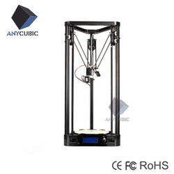 Anycubic Kossel Pro total-closed dual extruder price 3d printer delta